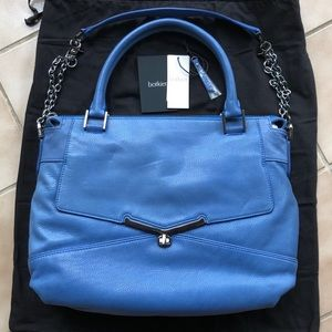 New Botkier Valentina French Blue satchel handbag